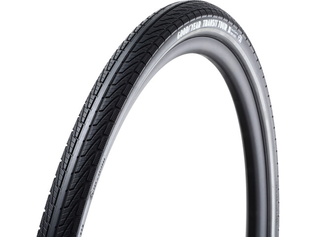 Goodyear Transit Tour Folding Tyre 40-622 Tubeless Complete Dynamic Silica4 e50 black reflected